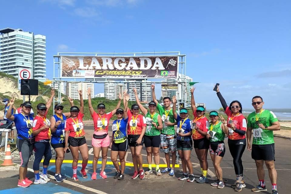 Mulheres que Correm representam a cidade de Pinheiro, na 4ª Etapa do Circuito Cross Country-MA – Etapa Litorânea