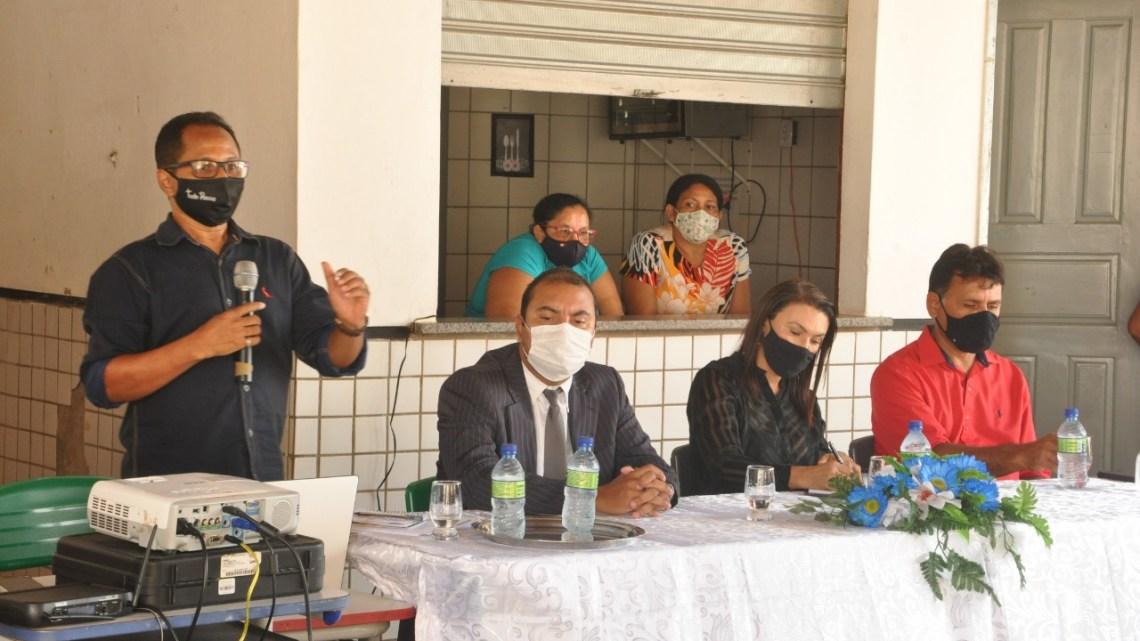 Secretaria Municipal de Educação e Ministério Público discutem durante audiência pública, retorno das aulas presenciais em Porto Rico do Maranhão