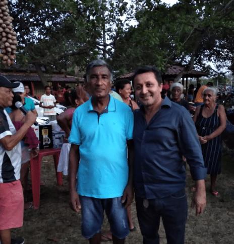 Pinheiro – Vereador Riba do Bom Viver, prestigia 36ª edição do festival do babaçu no povoado São Paulo da Chapada