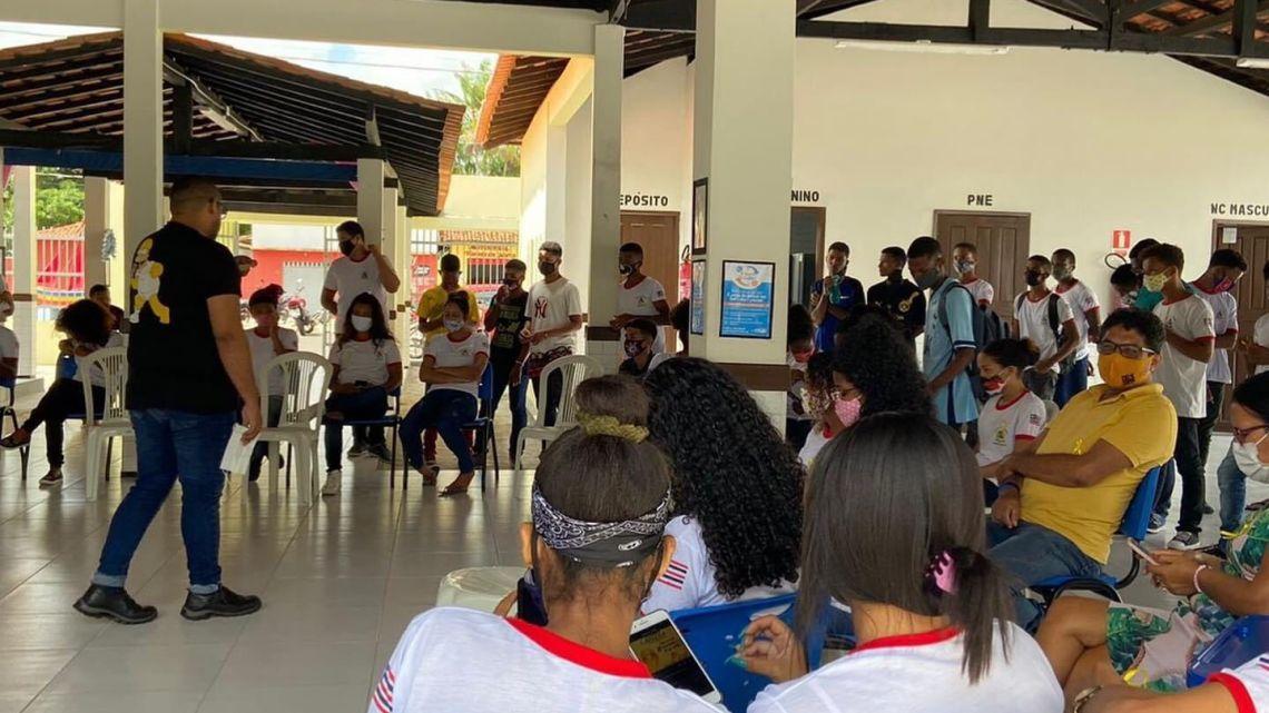 """Prefeitura de Porto Rico do Maranhão, promove palestra sobre o """"Setembro Amarelo"""" mês de combate e prevenção ao suicídio"""