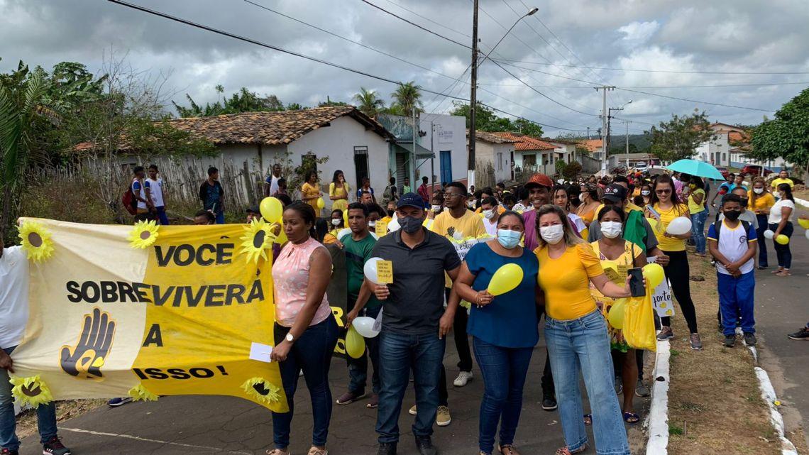 Prefeitura de Central do Maranhão encerra campanha Setembro Amarelo com grande programação, veja