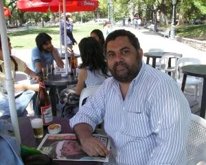 Em Mendoza com mais de um litro de cerveja na mesa