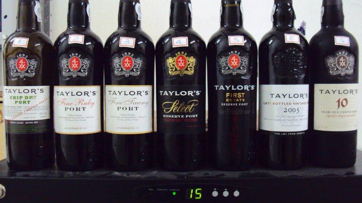 Degustação de Vinhos do Porto Taylor's – Sbav 31/08/2011
