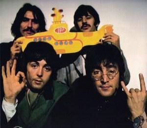 O submarino dos Beatles