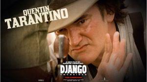 Cartaz Django com Tarantino