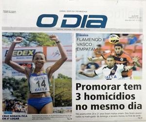 Jornal O Dia capa II