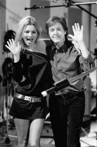Behind the scenes photos for the Queenie Eye music video by Sir Paul McCartney.