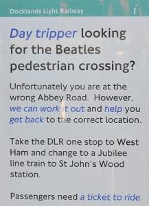 Abbey Road errada