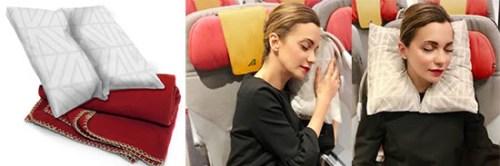 Travesseiro ergonômico Alitalia