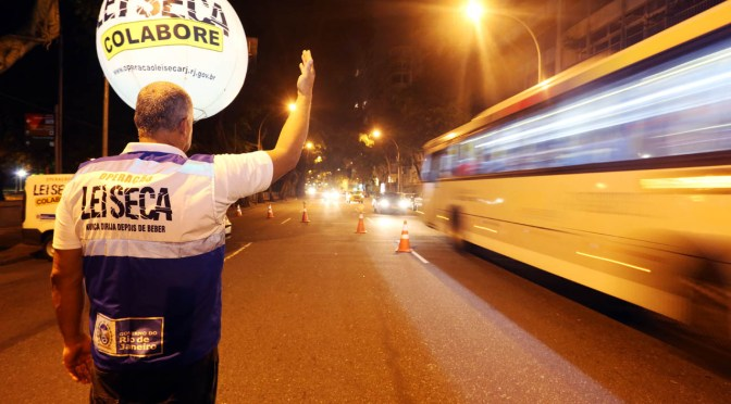 O engodo das Operações da Lei Seca no Rio de Janeiro