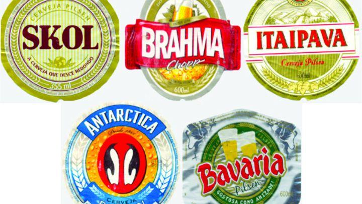 As cervejas preferidas dos torcedores brasileiros