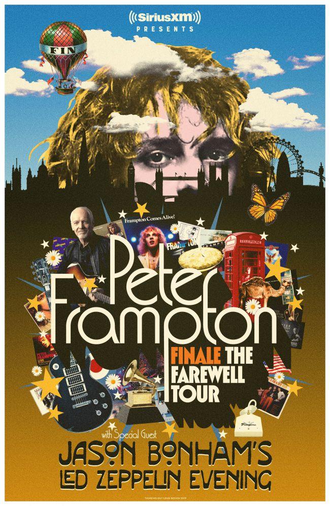 Cartaz da turnê de despedida de Frampton