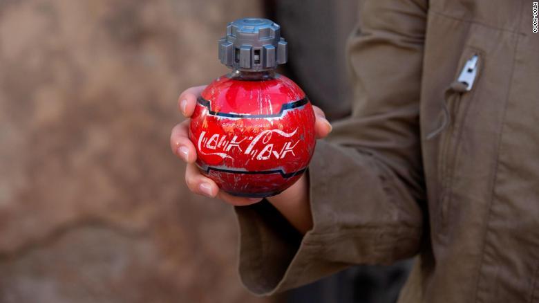 Coca-cola cria garrafas especiais para os parques 'Star Wars' na Disney
