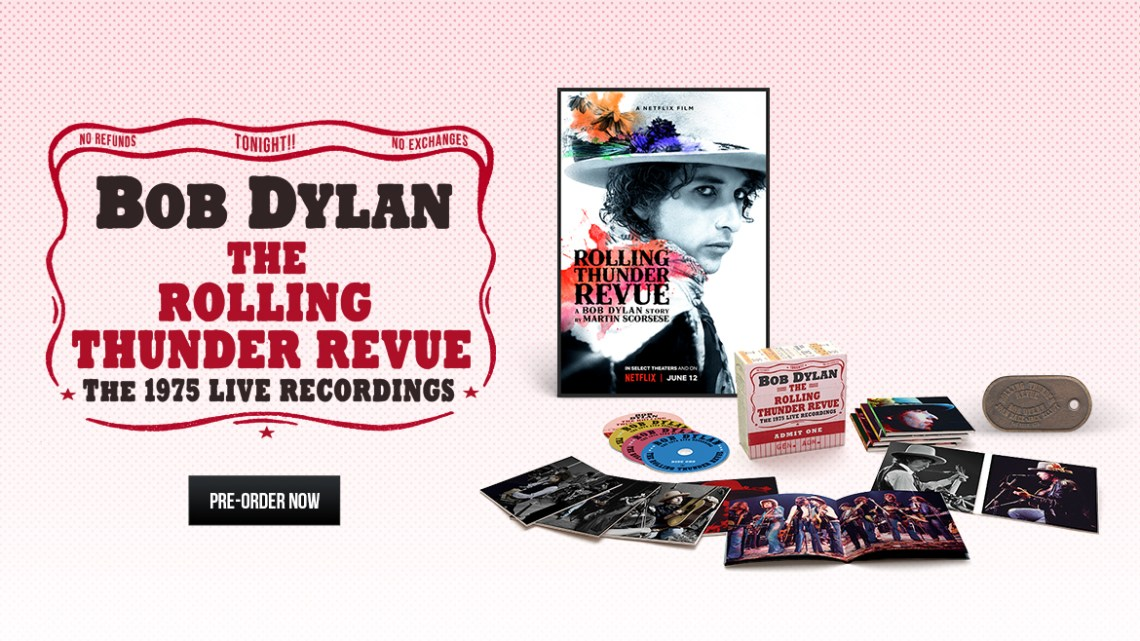 Turnê de 1975 de Bob Dylan em 14 CDs e edição limitada