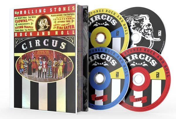 O Circo dos Rolling Stones está de volta
