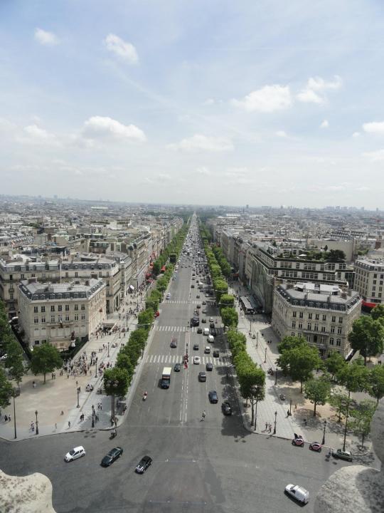 Verão, sol e falta de gelo em Paris