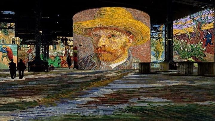 Van Gogh multimídia em Paris