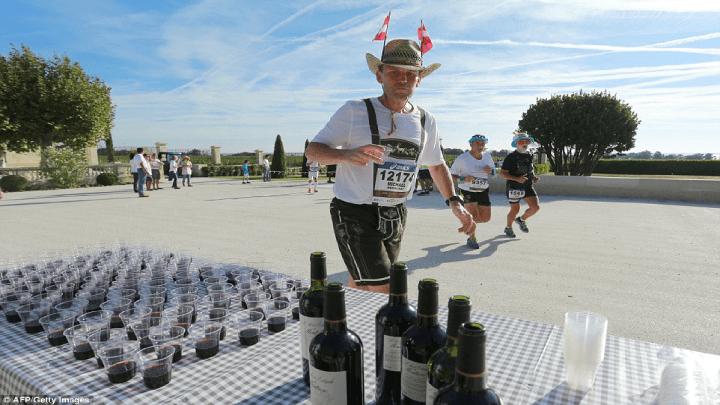 Imagine vencer uma maratona e receber como prêmio… seu peso em vinho!