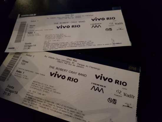 Robert Cray - Vivo Rio