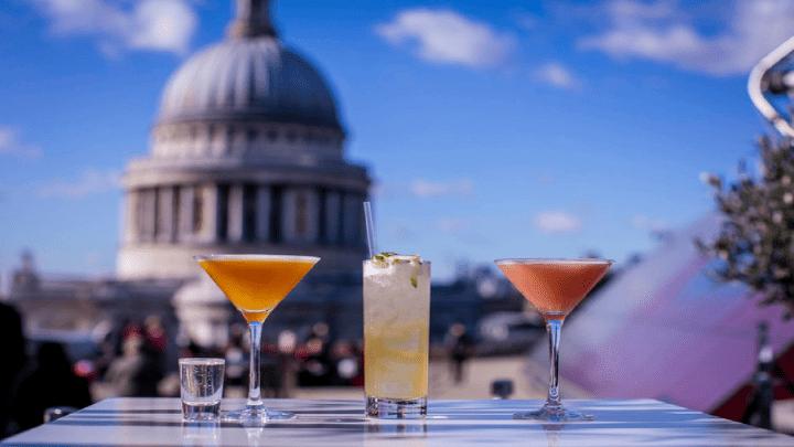 Conheça os 13 melhores rooftop bar em Londres