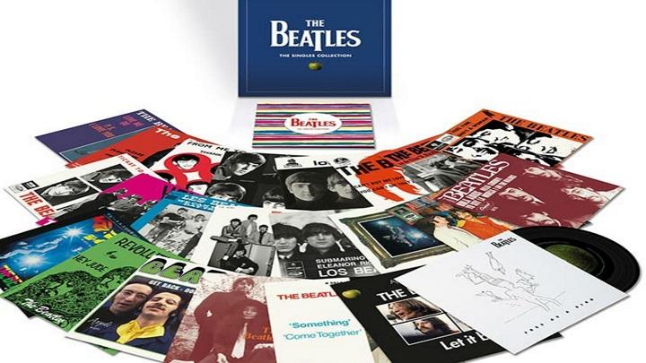 Universal lança caixa com singles em vinil dos Beatles
