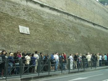 Fila do Vaticano