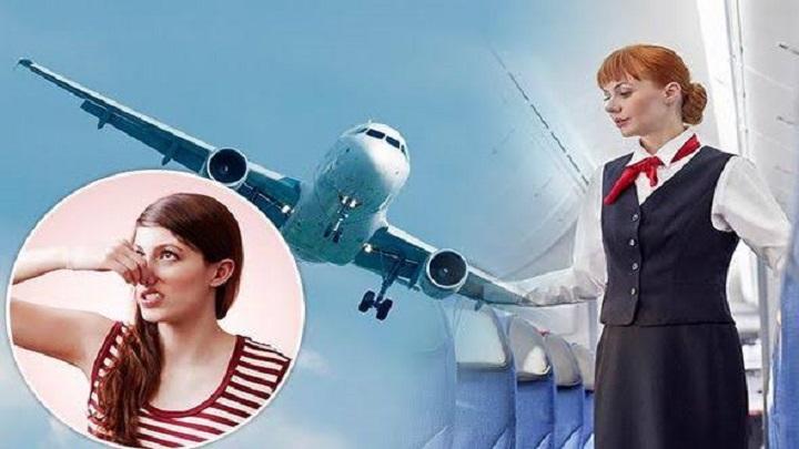 Dicas de Viagem – como não cheirar mal durante um voo