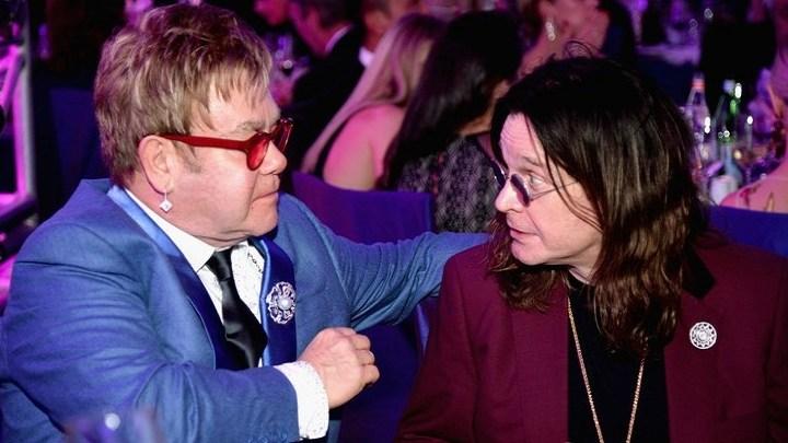 Ozzy Osbourne divulga canção com a participação de Elton John