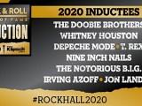 Saiu a lista dos novos membros do Rock and Roll Hall of Fame