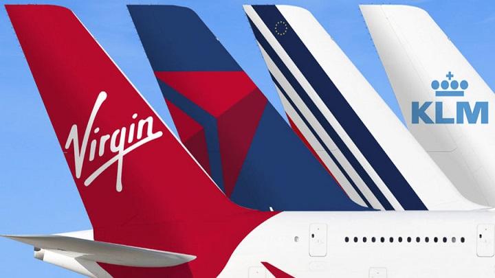 Air France, KLM, Delta e Virgin Atlantic lançam parceria