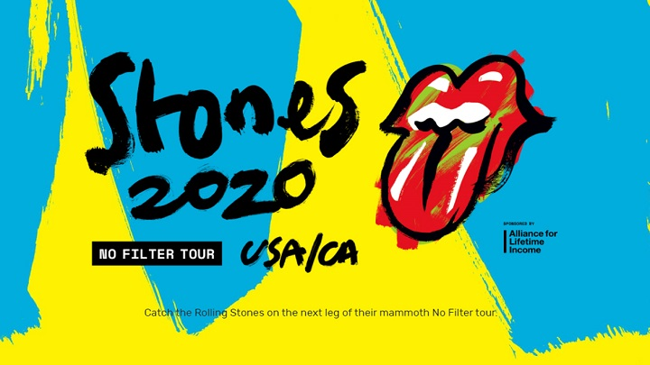 Rolling Stones anunciam datas da turnê NO FILTER com passagem por Nashville
