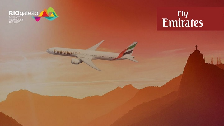 Emirates oferece stopover gratuito no Rio de Janeiro