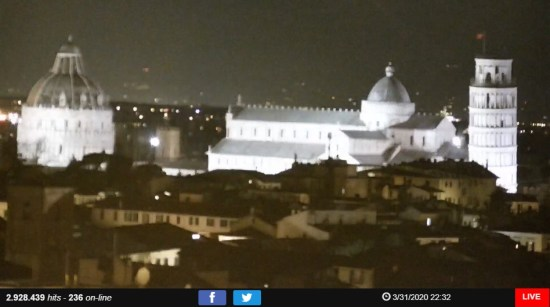 Webcams pelo mundo - Pisa