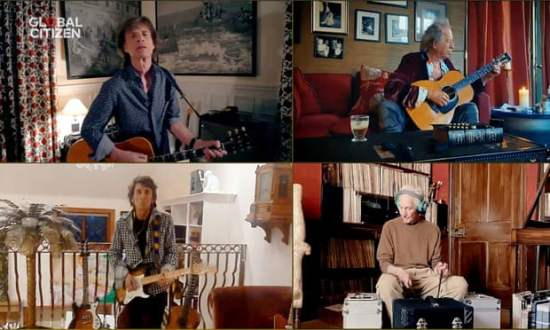 Rolling Stones One World: Together At Home