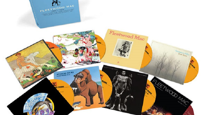 Caixa com 8 CDs revê a primeira fase do Fleetwood Mac