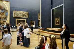Louvre: Mona Lisa depois do distanciamento social