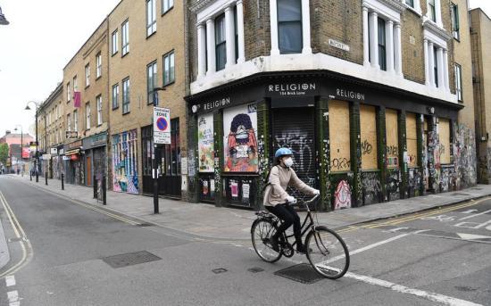 Passeio de bicicleta em Londres - EFE