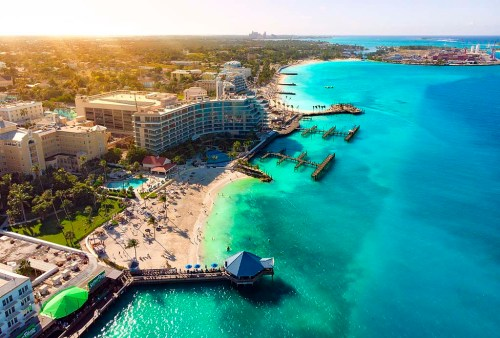 Países onde os brasileiros não são barrados: Bahamas