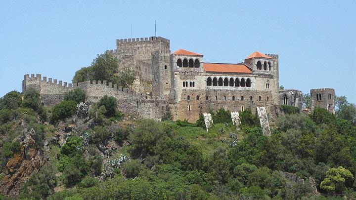 Um passeio virtual pelo Castelo de Leiria, em Portugal