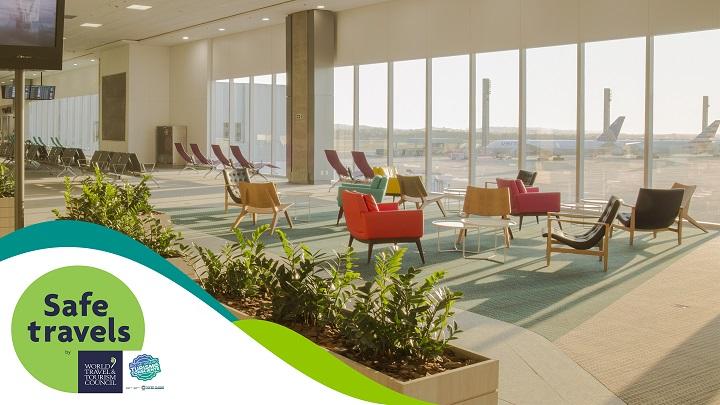 Aeroporto Tom Jobim conquista selo internacional por medidas de prevenção à COVID