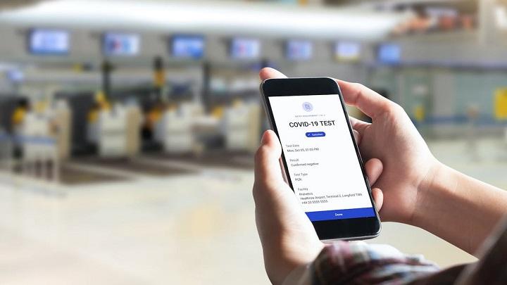"""Projeto de """"Passaporte anti-COVID"""" é testado em Londres e NY"""