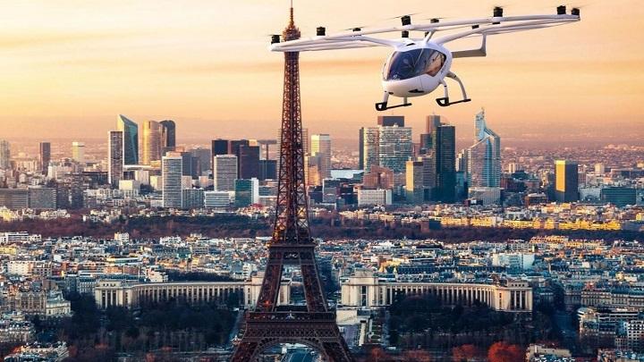 Táxis voadores serão testados a partir de 2021 em Paris