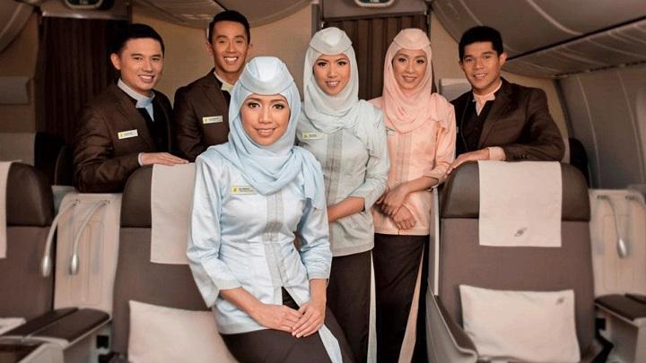 Tripulação da Royal Brunei Airlines é escolhida como a melhor do mundo