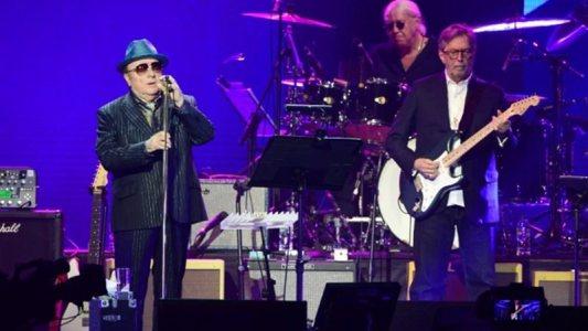 Van Morrison e Eric Clapton