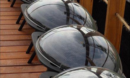 Aquecedor solar esférico é destaque na Casa Cor