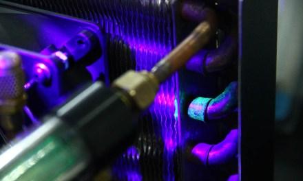 Contraste UV aprimora controle e eliminação de vazamentos de fluidos frigoríficos