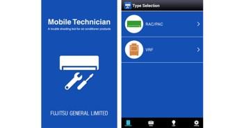 App da Fujitsu auxilia refrigeristas a diagnosticar problemas