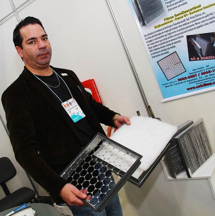Engenheiro Amarildo de Carvalho, da Oxiclima