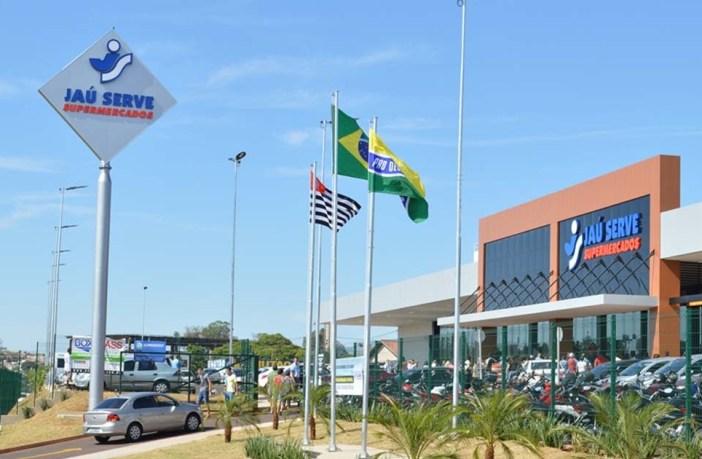 Loja do Supermercado Jaú Serve em Lençóis Paulista
