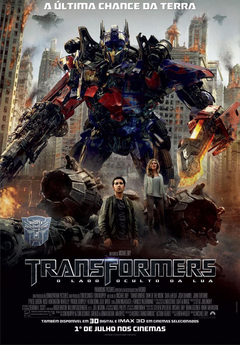 Poster do filme Transformers: O Lado Oculto da Lua
